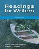 9781111837099: Ie Readings for Writers 14e