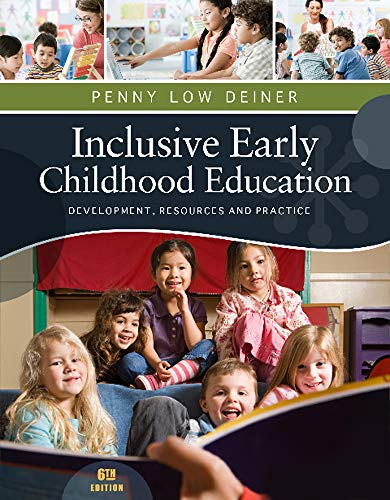 9781111837150: Inclusive Early Childhood Education: Dev/resources/practice (Psy 683 Psychology of the Exceptional Child)