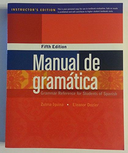 Ie Manual De Gramatica 5e