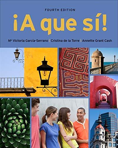 A que si! (World Languages): Garcia Serrano, M.