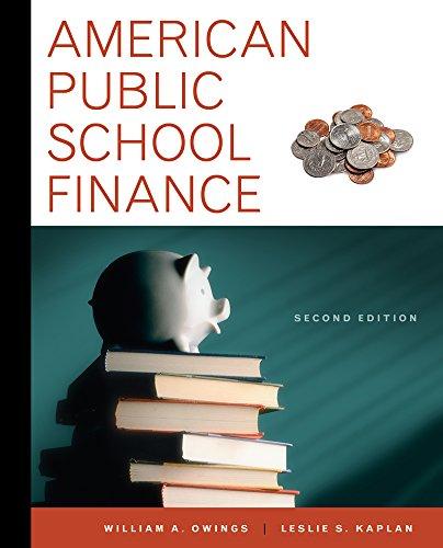 9781111838041: American Public School Finance