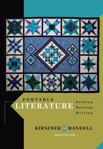 9781111839048: Portable Literature: Reading, Reacting, Writing