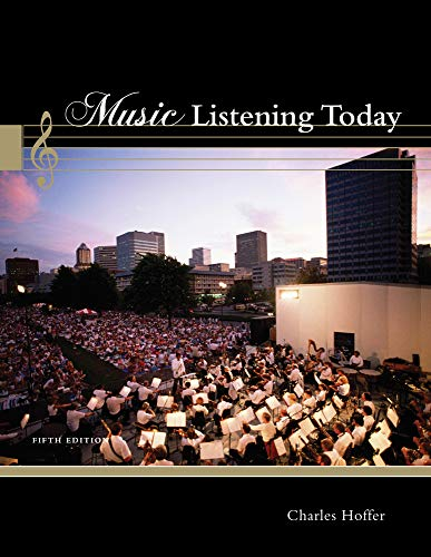 9781111839345: Music Listening Today (with 2 CD Set)