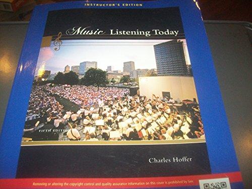 9781111839376: Music Listening Today
