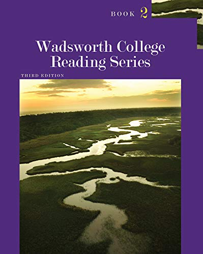 9781111839413: Wadsworth College Reading Series: Book 2