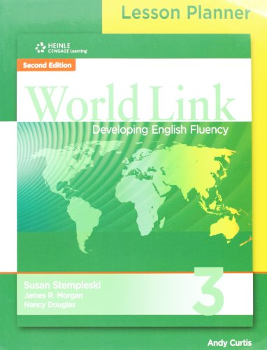 9781111839772: Worldlink 3 Lesson Planner and Teachers Cd and Card
