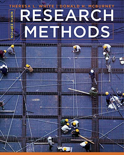 9781111840624: Research Methods