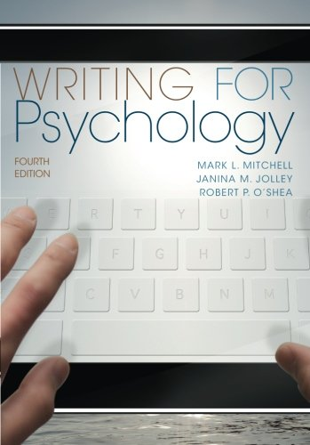 Writing for Psychology: Mitchell