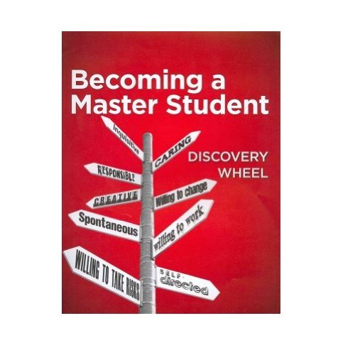 9781111840815: Student Discovery Wheel for Ellis' Becoming a Master Student, 14th