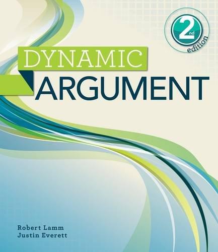 Dynamic Argument: Lamm, Robert P.; Everett, Justin