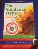 9781111841386: The Sundance Writer: A Rhetoric, Reader and Research Guide