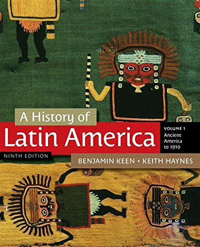9781111841409: A History of Latin America, Volume 1