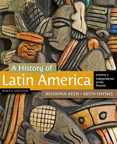 9781111841416: A History of Latin America, Volume 2