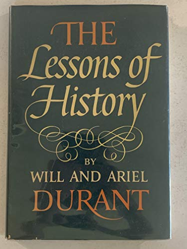 9781111848101: The Lessons of History,