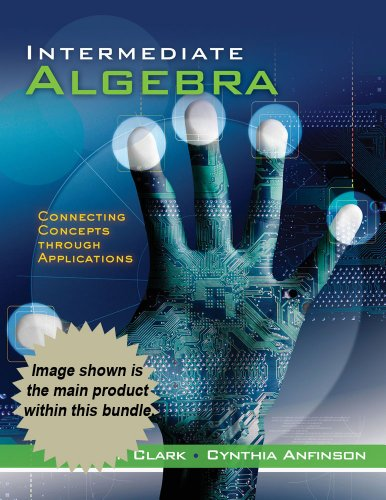 9781111871406: Bndl: Adv Intermediate Alg: Connecting Concepts Thru Apps (Cengage Advantage Books)