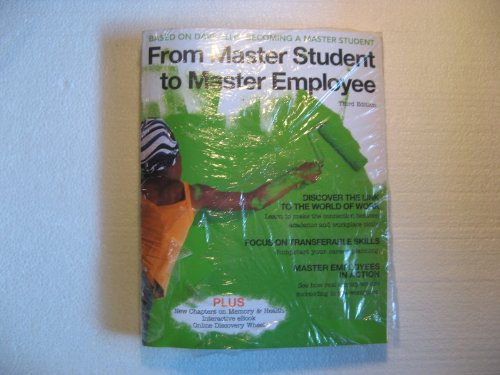 9781111875473: From Master Student to Master Employee, Package Edition
