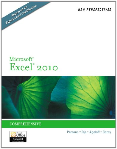 9781111877835: Bundle: New Perspectives on Microsoft Excel 2010, Comprehensive + Microsoft Office 2010 180-day Subscription