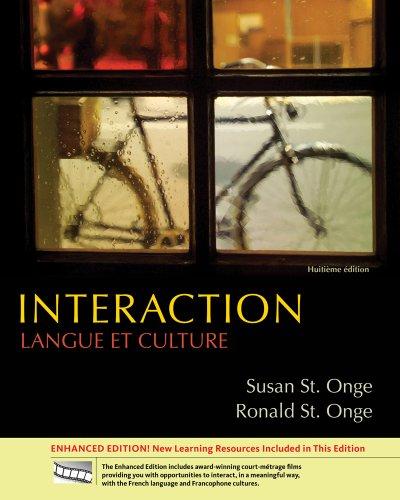 9781111879808: Bundle: Interaction: Langue et culture, Enhanced, 8th + Quia Printed Access Card