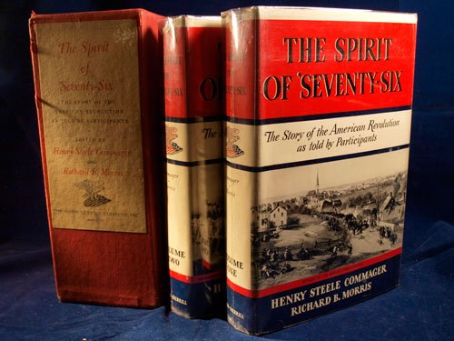 9781111889609: The Spirit of 'Seventy-Six The Story of the American Revolution as Told by Participants Volume I & II