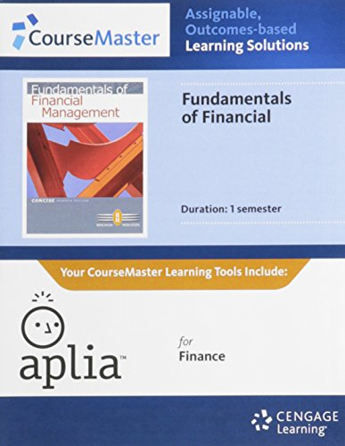 9781111929862: Aplia Printed Access Card for Brigham/Houston's Fundamentals of Financial Management, Concise Edition, 7th