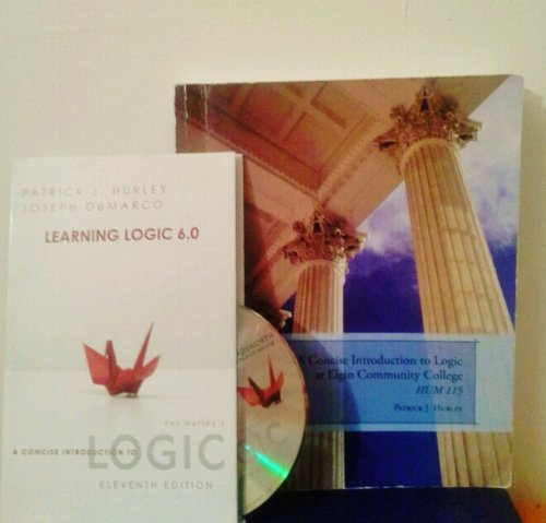 9781111953379: A Concise Introduction to Logic, At Elgin Community College