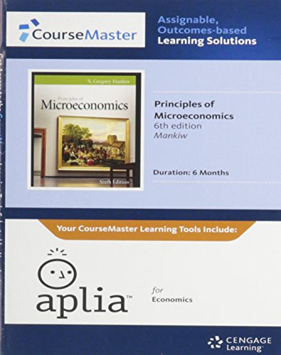 9781111959401: Aplia Printed Access Card for Mankiw's Principles of Microeconomics