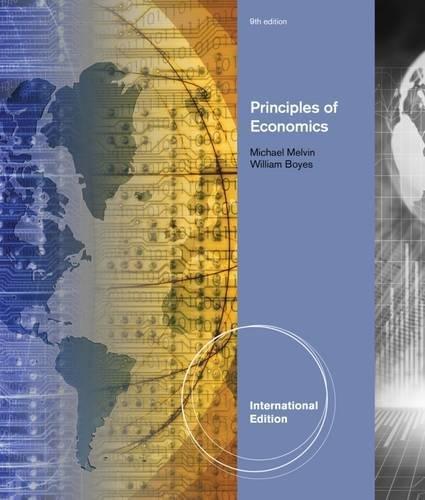 9781111970437: Principles of Economics. by William Boyes, Michael Melvin