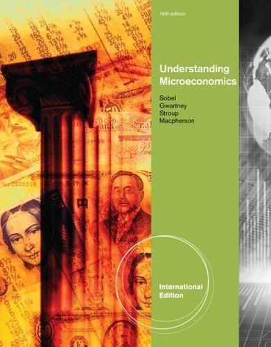 9781111970581: Understanding Microeconomics, International Edition