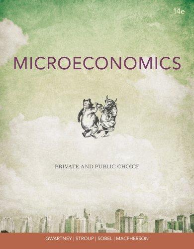 Microeconomics: Private and Public Choice: Macpherson, David A.,