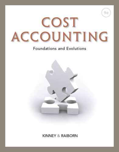 9781111972097: Cost Accounting