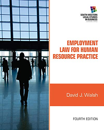 9781111972196: Employment Law for Human Resource Practice (South-western Legal Studies in Business)
