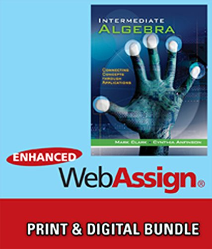 Bundle: Intermediate Algebra: Connecting Concepts through Applications: Clark, Mark; Anfinson,