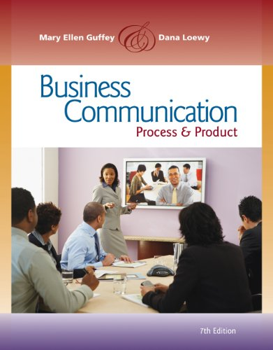 9781111982973: Bundle: Business Communication: Process and Product (with meguffey.com Printed Access Card), 7th + Write Experience with 2.0 Powered by My Access with eBook Printed Access Card (StandAlone)