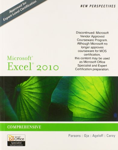 9781111983161: Bundle: New Perspectives on Microsoft Excel 2010: Comprehensive + SAM 2010 Assessment, Training, and Projects v2.0 Printed Access Card (New Perspectives (Course Technology Paperback))