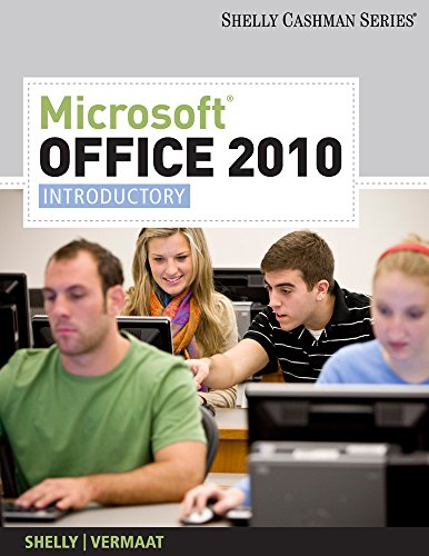 Bundle Microsoft Office 2010 Introductory Discovering Shelly Gary B