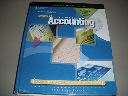 Century 21 Accounting: Multicolumn Journal, 9th Edition,: Gilbertson; Lehman