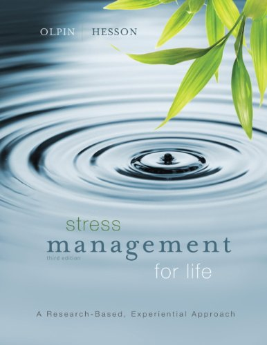 Journal for Olpin/Hesson's Stress Management for Life, 3rd: Michael Olpin