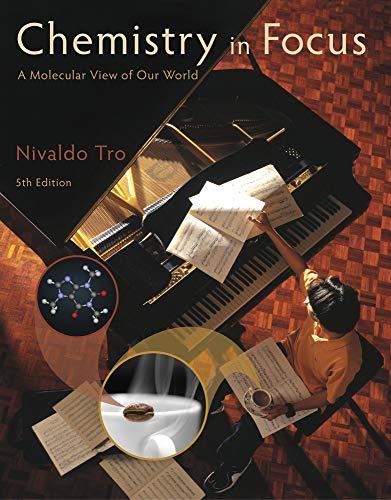 Chemistry in Focus: A Molecular View of: Tro, Nivaldo J.