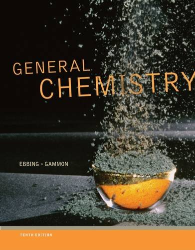 9781111989408: Study Guide for Ebbing/Gammon's General Chemistry, 10th