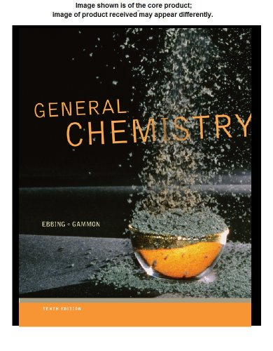 9781111989415: General Chemistry Student Solutions Manual, 10th Edition
