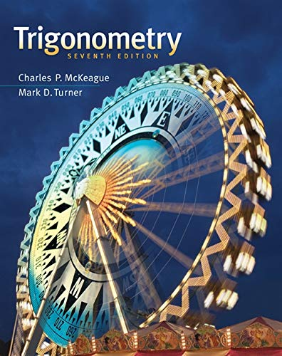 Student Solutions Manual for McKeague/Turners Trigonometry, 7th