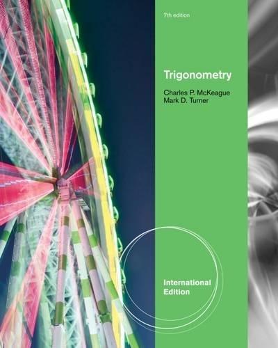 9781111989811: Trigonometry