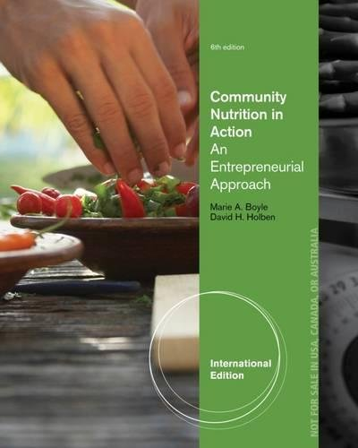 9781111989873: Community Nutrition in Action