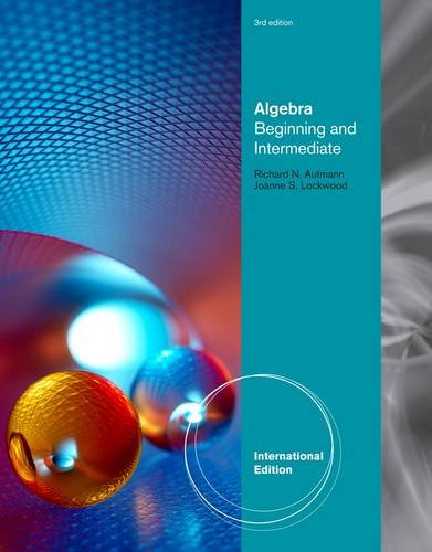 9781111579500 algebra beginning and intermediate textbooks 9781111989927 algebra beginning and intermediate fandeluxe Gallery