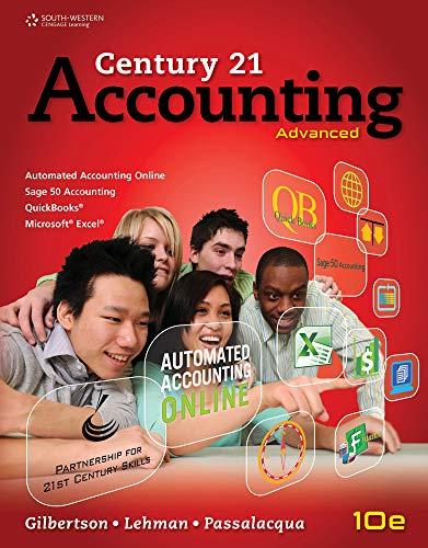 9781111990640: Century 21 Accounting: Advanced (Accounting II)