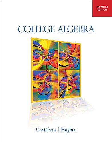 College Algebra (Hardback): R David Gustafson, Professor Jeff Hughes