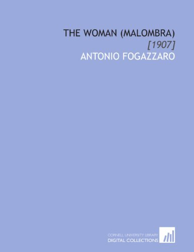 9781112083112: The Woman (Malombra): [1907]