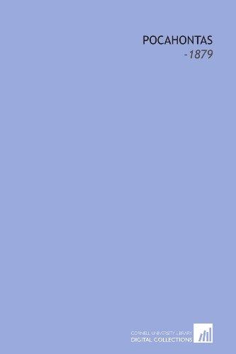 9781112118685: Pocahontas: -1879