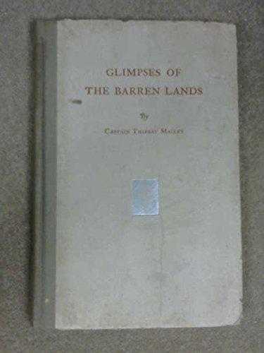 9781112124051: Glimpses Of The Barren Lands