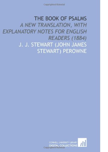 9781112166518: The Book of Psalms: A New Translation, With Explanatory Notes for English Readers (1884)